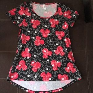 Lula roe mini mouse shirt